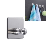 MYD-1034 Stainless Steel Hanger Bathroom Non-perforated Storage Clothes Hook
