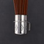 201 Stainless Steel Chopsticks Barrel Multi-function Kitchen Punching-free Wall-mounted Holder Storage Rack