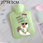 Cartoon Warm Safe Reliable Household Water Injection Hot Water Bag, Size:L, 21×14.5cm