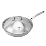 LX-3CG-301 Stainless Steel Non Stick Wok Cooking Pot