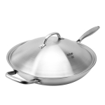 LX-3CG319M Stainless Steel Non Stick Wok Cooking Pot