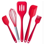 kn608 5 in 1 Silicone Baking Tools Set