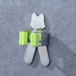 Cat Shape Bathroom Wall-mounted Mop Holder Storage Hook