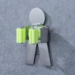 People Shape Bathroom Wall-mounted Mop Holder Storage Hook
