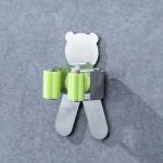 Panda Shape Bathroom Wall-mounted Mop Holder Storage Hook
