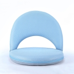 Multifunctional Folding Bed Backrest Waist Pregnant Women Breastfeeding Chair (Blue)