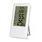 MC501 Adjustable Indoor Thermometer Hygrometer, Charging Version