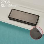 2 PCS 8018-96 Drawer Cabinet Door Sliding Door Covered Handle (Black)