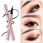 QIC Q610 Black Liquid Eyeliner 24h Long-lasting Waterproof Eye Liner