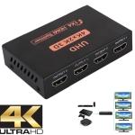 CY10 UHD 4K x 2K 3D 1 x 4 HDMI Splitter (Black)