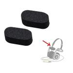 2 PCS For Koss Porta Pro PP Headphone Replacement Sponge Pad Cushion Earpads