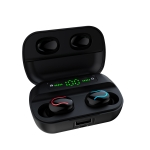 Q82 TWS Bluetooth 5.0 Digital Stereo Wireless Earphone with Charging Box