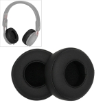 2 PCS For Beats Studio Mixr Headphone Protective Leather Cover Sponge Earmuffs (Black)
