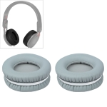2 PCS For Steelseries Siberia V2 / V1 Frost Blue Grey Protein Leather Cover Headphone Protective Cover Earmuffs