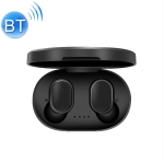 A6S IPX4 Waterproof Bluetooth 5.0 Wireless Bluetooth Earphone with Charging Box, Support for HD Calls & Siri & IOS Power Display(Black)