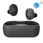 V5-TWS Bluetooth V5.0 Wireless Stereo Headset with Charging Case, Support Intelligent Pairing & Siri Voice (Black)