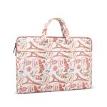Canvas Waterproof Laptop Handbag for 14.1 inch Laptops