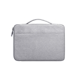 Oxford Cloth Waterproof Laptop Handbag for 14.1 inch Laptops, with Trunk Trolley Strap(Grey)
