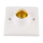 E27 Lamp Base Socket Light Bulb Base Wall Lamp Holders Converter