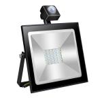30W AC85-265V IP65 90LM Induction Flashing Warning Lamp with Holder (Black)