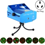 Mini Laser Stage Lighting Holographic Laser Star Projector without Remote Control(AU Plug)