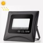 6500K Solar Lamp Outdoor Waterproof LED Floodlight, 50W