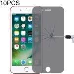 10PCS  9H Surface Hardness 180 Degree Privacy Anti Glare Screen Protector for iPhone 7 Plus / 8 Plus