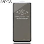 25 PCS MIETUBL For Xiaomi Redmi K20 Anti-glare Full Screen Tempered Glass Film (Black)