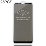 25 PCS MIETUBL For Galaxy A10 Anti-glare Full Screen Tempered Glass Film (Black)
