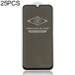 25 PCS MIETUBL For Galaxy A40 Anti-glare Full Screen Tempered Glass Film (Black)
