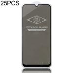 25 PCS MIETUBL For Galaxy A50 Anti-glare Full Screen Tempered Glass Film (Black)