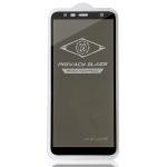 MIETUBL For Galaxy J4 Plus / J6 Plus Anti-glare Full Screen Tempered Glass Film (Black)