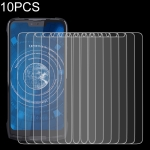 10 PCS 9H 2.5D Non-Full Screen Tempered Glass Film For DOOGEE S90