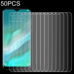 50 PCS For DOOGEE Y8 Plus 2.5D Non-Full Screen Tempered Glass Film