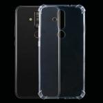 For Nokia X71 Four-Corner Shockproof Ultra-Thin Transparent TPU Case