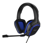 IPEGA PG-R006 Computer Games Wired Headset Noise Reduction Headphones with Mic for Sony PS4 / Nintendo Switch Lite / PC / Phones(Blue)