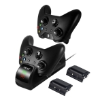 Mimd for Xbox One / One X / One S Universal Display Game Controller Dual Charger Dock Station with Micro USB Cable