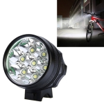 Mountain Bike Light Headlights T6 Glaring Flashlight Waterproof Shockproof Night Riding Equipment (Black)