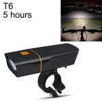 TK3 USB Charging Bicycle Light LED Flashlight (5 Hours, T6 Lamp Beads)