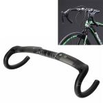 TOSEEK UD Carbon Fiber Texture Road Bike Handlebar, Size: 400mm (UD Matte)