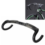 TOSEEK UD Carbon Fiber Texture Road Bike Handlebar, Size: 440mm (UD Matte)
