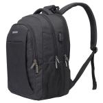 S25 Osoce Business Waterproof Shoulder Computer Bag (Black)