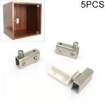 5 PCS Glass Clip Single Door Touching Exhibition Cabinet Hinge