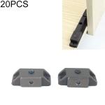 20 PCS Cabinet Plastic Door Magnet Single Base knob