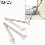 15 PCS Thickened Double Folding Pull Rod Cabinet Door Movable Support Rod