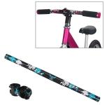 TOSEEK Carbon Fiber Children Balance Bike Handlebar, Size: 400mm(Blue)
