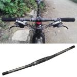 TOSEEK Full Carbon Fiber Road Bike Straight Handlebar, Size: 740mm (Matte)