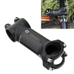 TOSEEK Road Mountain Bike Ultra-light Handlebar Stem Riser Faucet, Size: 6 Degree, 80mm (Matte)