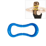 PP Double Massage Point Yoga Circle Fascia Stretching Ring Pilates Resistance Ring, Random Color Delivery