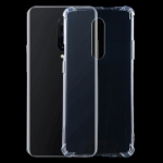 For OnePlus 6T Four-Corner Shockproof Ultra-Thin Transparent TPU Case